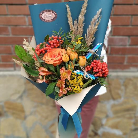 Авторский букет для учителей: букеты цветов на заказ Flowwow