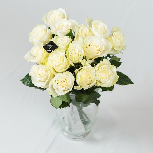 """Букет """"MONOMONDIAL-15"""" PREMIUM: букеты цветов на заказ Flowwow"""