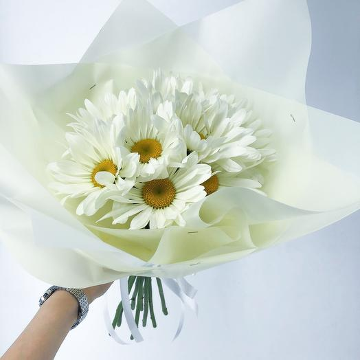 Ромашковая долина: букеты цветов на заказ Flowwow