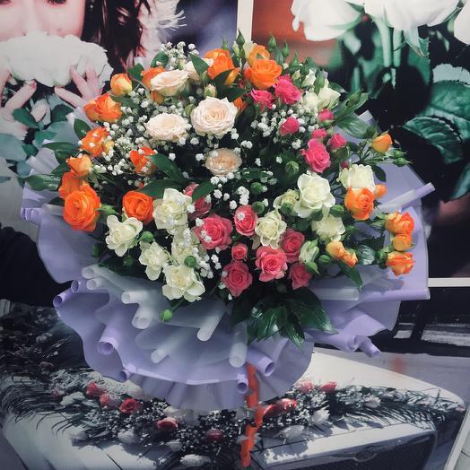 Букет «Мармелад»: букеты цветов на заказ Flowwow