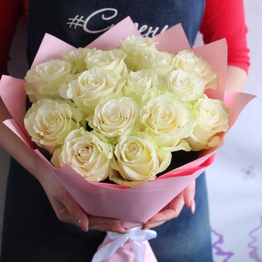 A bouquet of 15 roses Ecuador