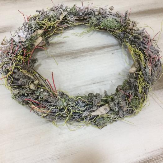 Венок Рождественский: букеты цветов на заказ Flowwow