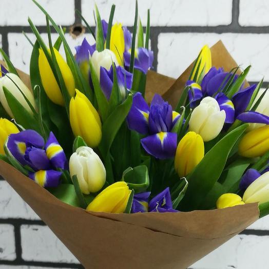 Весна стучится в дом: букеты цветов на заказ Flowwow