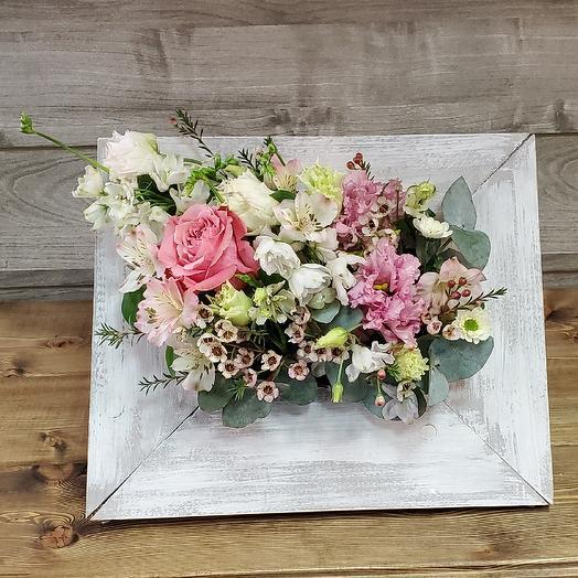 Панно: букеты цветов на заказ Flowwow