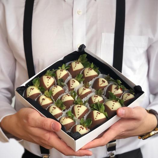 Клубника в шоколаде Mr. Gentleman (20-25 ягод)
