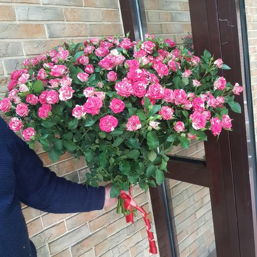 Роза куставая  Фаер Вокс: букеты цветов на заказ Flowwow
