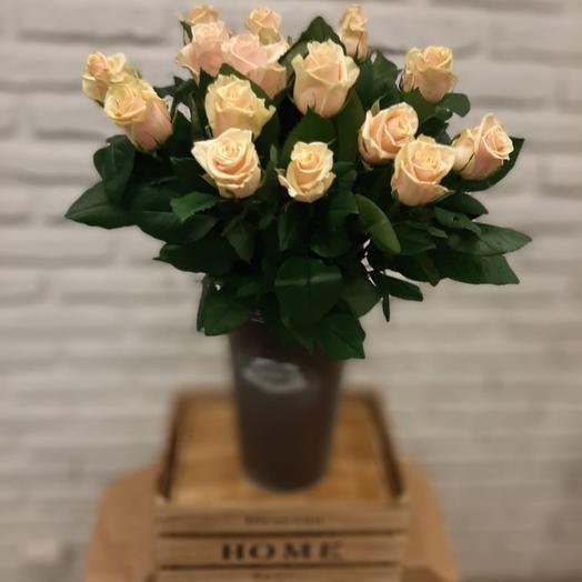 """НК"" 15 подмосковных роз Талея: букеты цветов на заказ Flowwow"