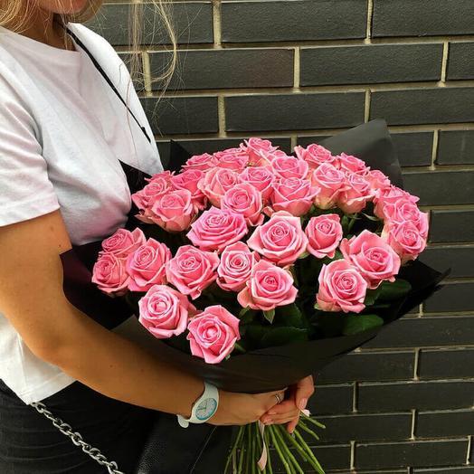 Букет из 35 роз Аква Дрим