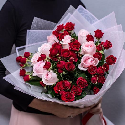 Розы и кустовые розы