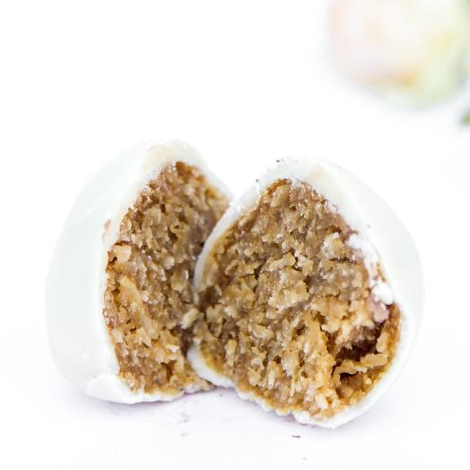 Конфеты кокосовые в белой глазури