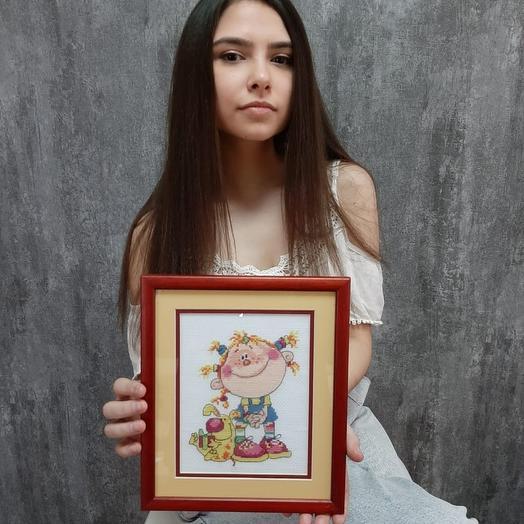 """Картина """"Егоза"""""""