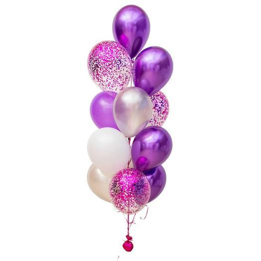 Букет фиолетовое счастье