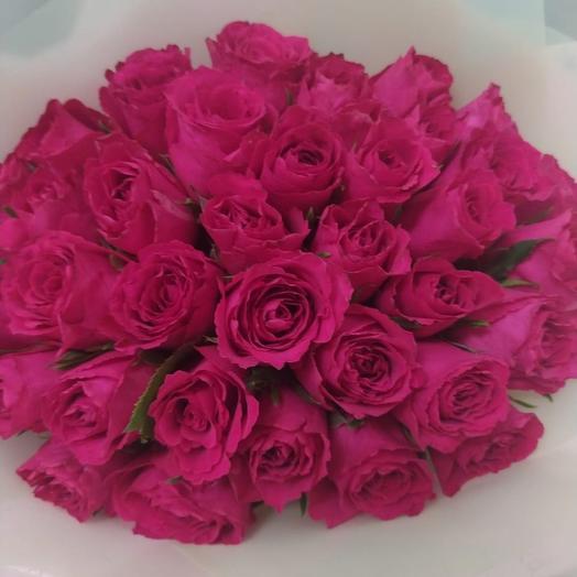 35 роз Мадам Церайз премиум