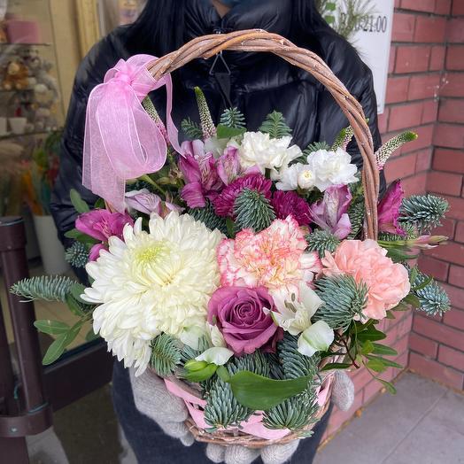 Wonderful basket 💜
