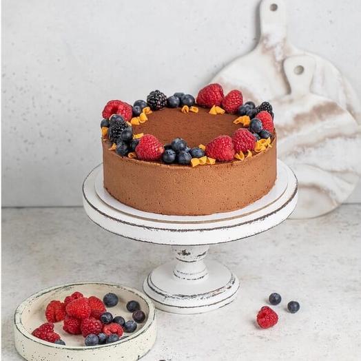 Трюфельный торт с карамелью