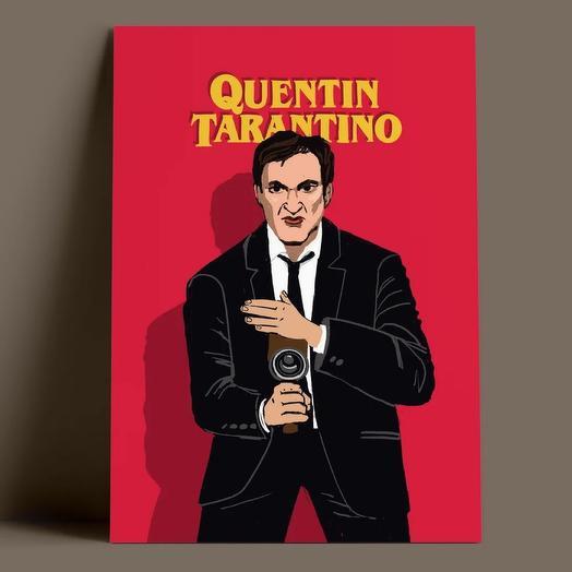 Открытка «Quentin Tarantino»