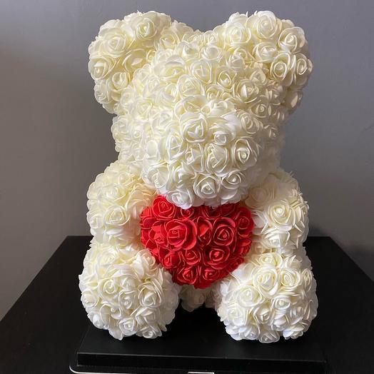 Мишка из роз «8 марта»