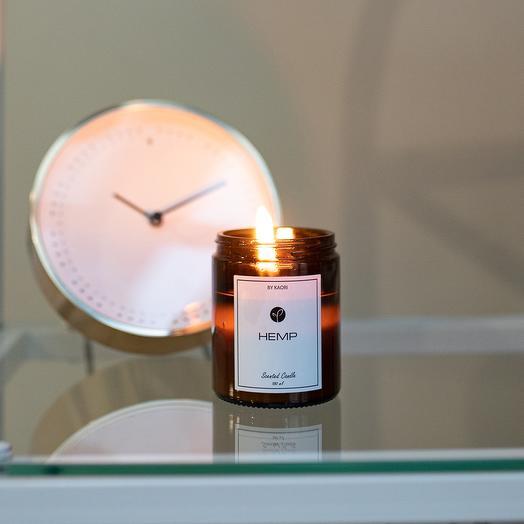 Свеча HEMP BY KAORI, 180