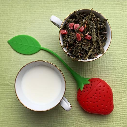 Зелёный чай «Клубника со сливками»