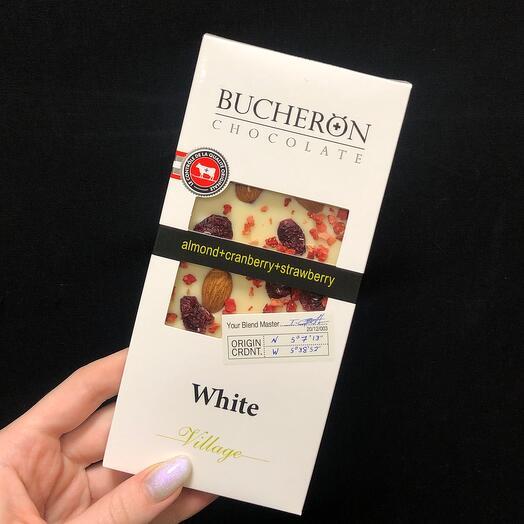 Шоколад Bucheron белый