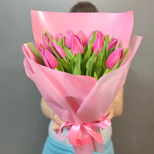 Букет тюльпанов «Нежность»