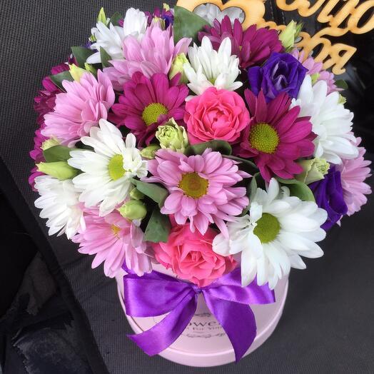 Цветы в коробке 054787