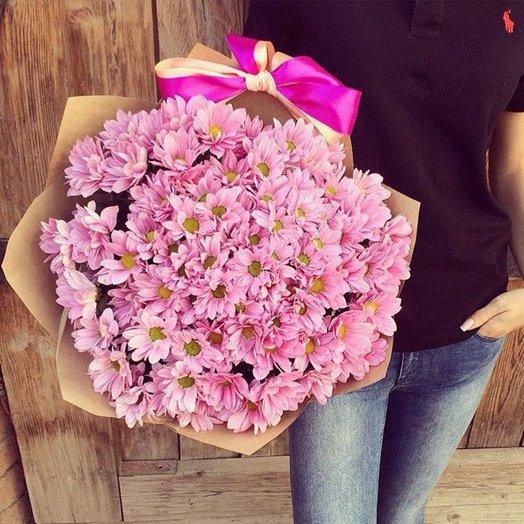 Мисс Хризантема: букеты цветов на заказ Flowwow