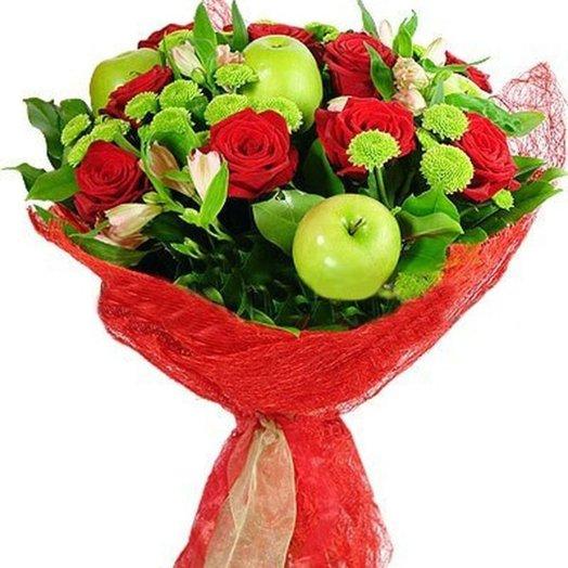 В яблочко!: букеты цветов на заказ Flowwow