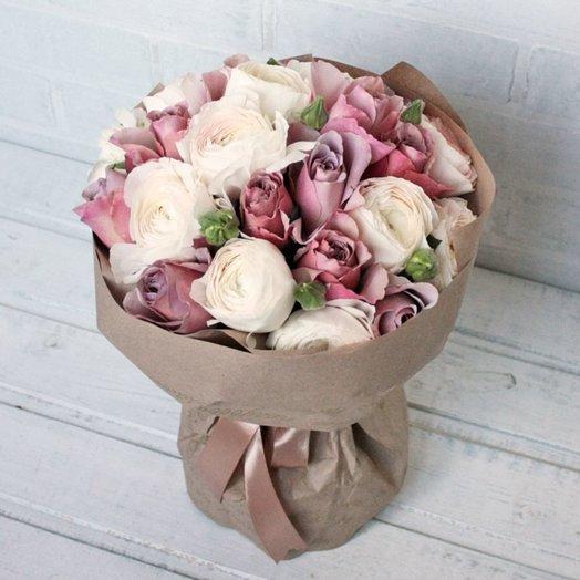 Латте-крем: букеты цветов на заказ Flowwow