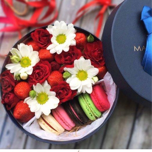 Клубничный мохито: букеты цветов на заказ Flowwow