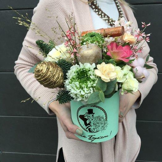 Композиция Изумрудная мечта: букеты цветов на заказ Flowwow