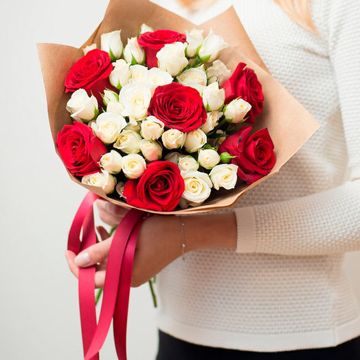 Bouquet compliment: flowers to order Flowwow