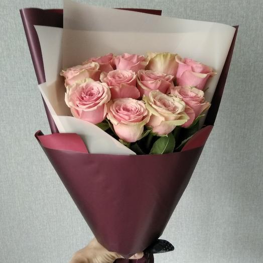 Букет из роз ( эквадор): букеты цветов на заказ Flowwow