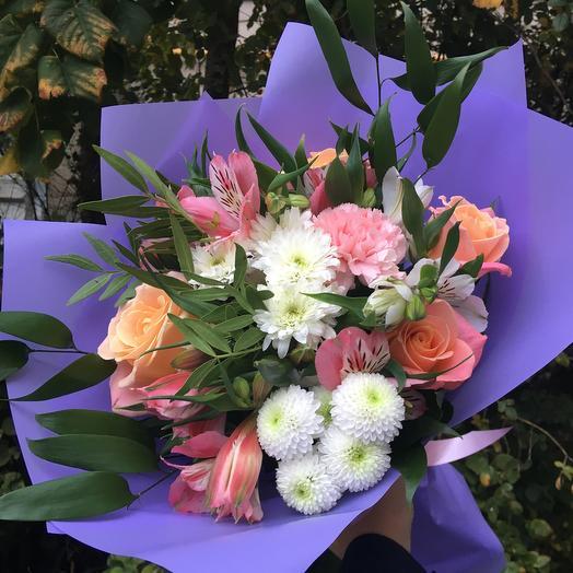 Букет «Монплезир»: букеты цветов на заказ Flowwow