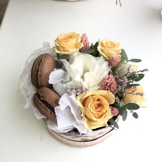 Милый десерт: букеты цветов на заказ Flowwow