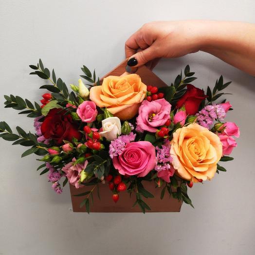 Комплимент Карамель: букеты цветов на заказ Flowwow