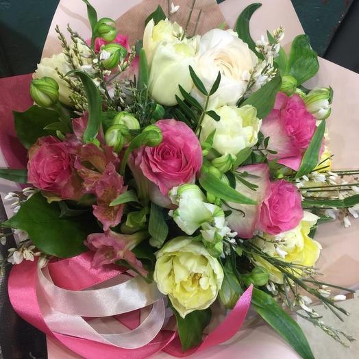 Московская весна: букеты цветов на заказ Flowwow