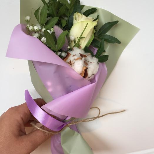 Мини букет «комплимент»: букеты цветов на заказ Flowwow