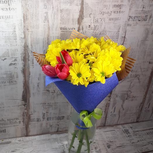 Тепло весны: букеты цветов на заказ Flowwow