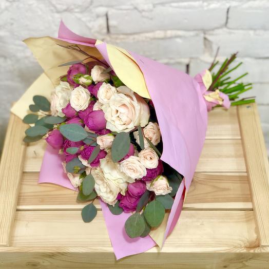 Букет Мисти Микс: букеты цветов на заказ Flowwow