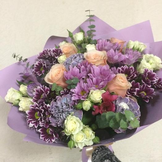 Магия любви: букеты цветов на заказ Flowwow