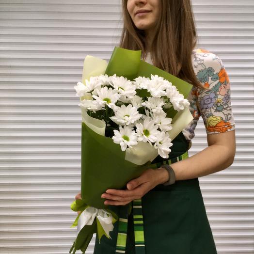 Букет «Ромашки»: букеты цветов на заказ Flowwow