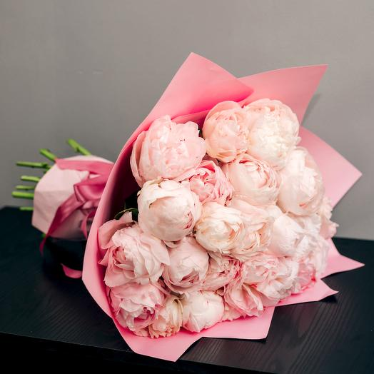 Букет королевских пионов: букеты цветов на заказ Flowwow