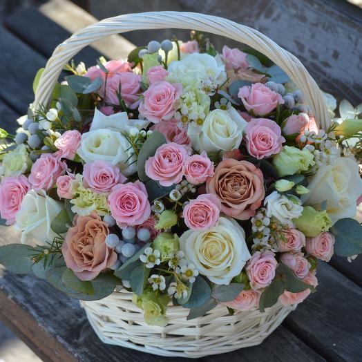Нежный остров: букеты цветов на заказ Flowwow