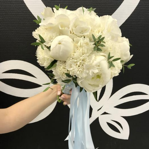Букет Невесты Белый: букеты цветов на заказ Flowwow