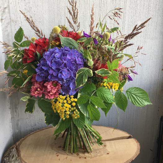 Садово-полевой: букеты цветов на заказ Flowwow