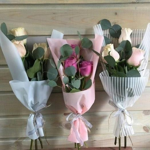 Осенний букет 3: букеты цветов на заказ Flowwow