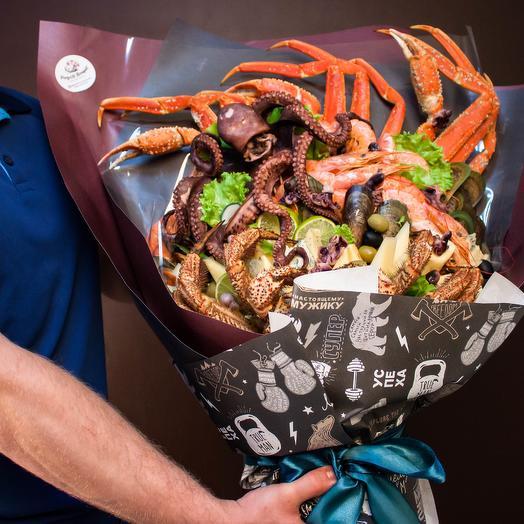 Битва в океане: букеты цветов на заказ Flowwow