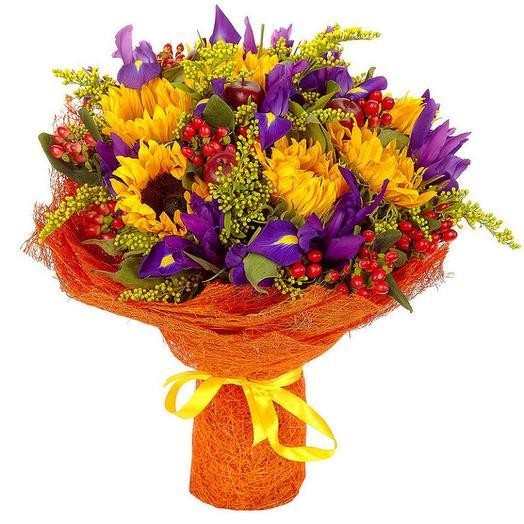 Осенний урожай: букеты цветов на заказ Flowwow