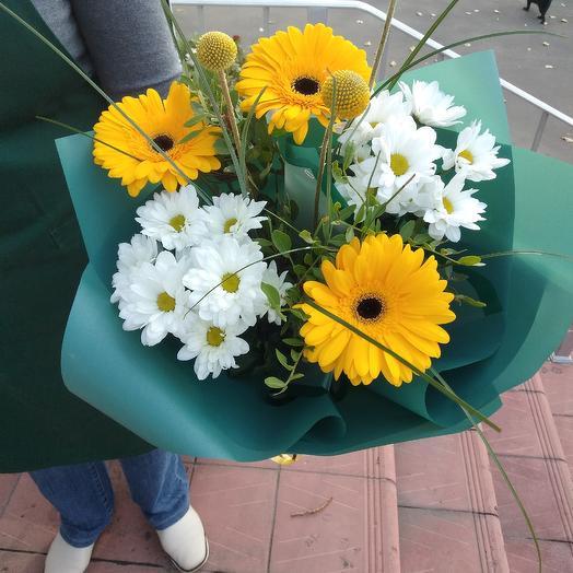 Солнечный денек: букеты цветов на заказ Flowwow